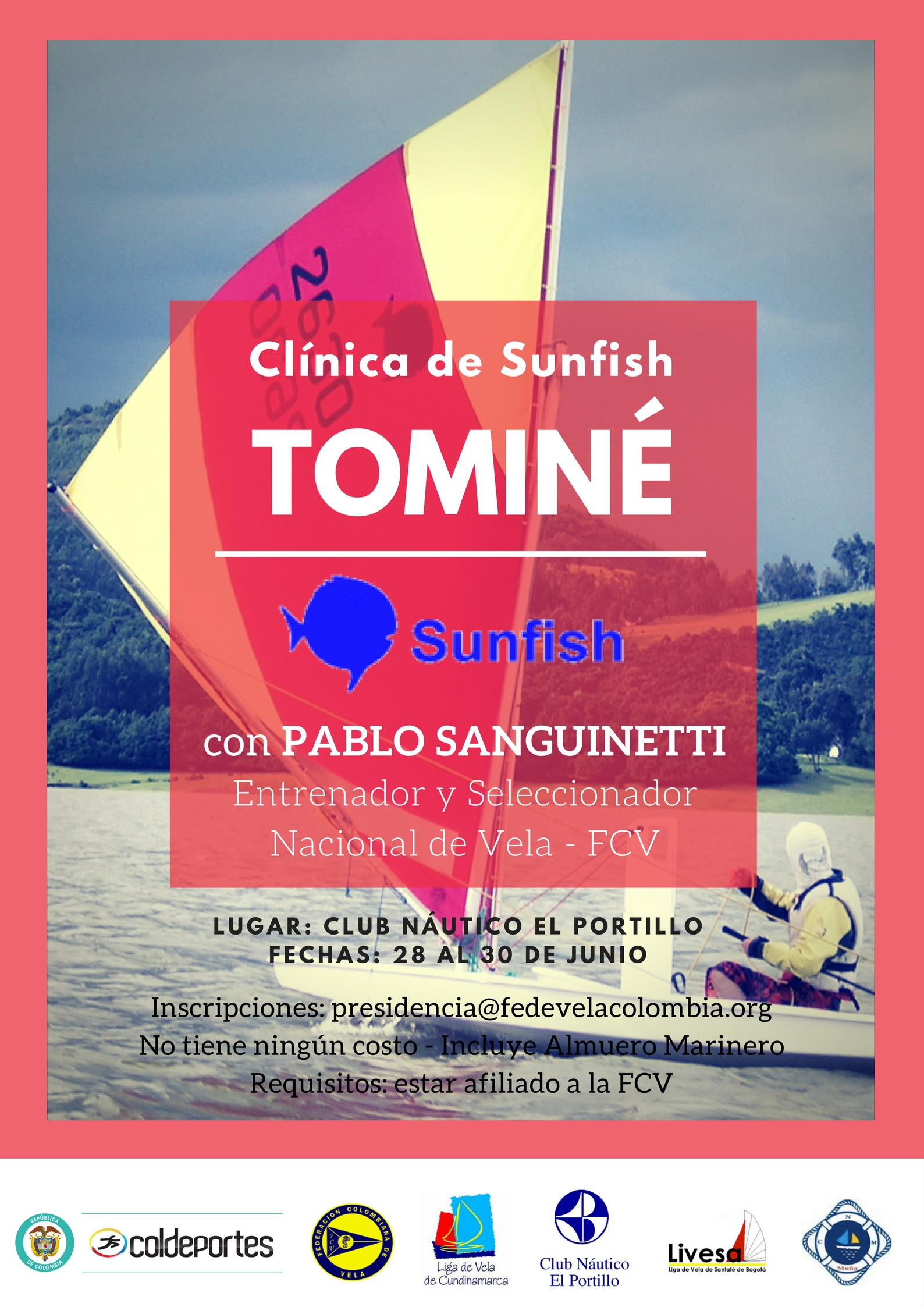 Clinica Sunfish JUN 28 a 30