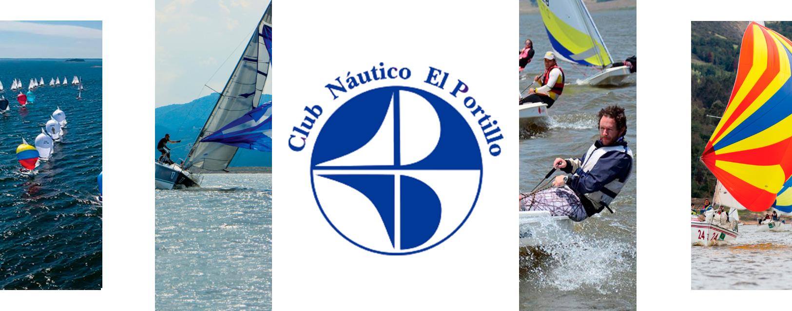 Banner logo Club nautico con fotos